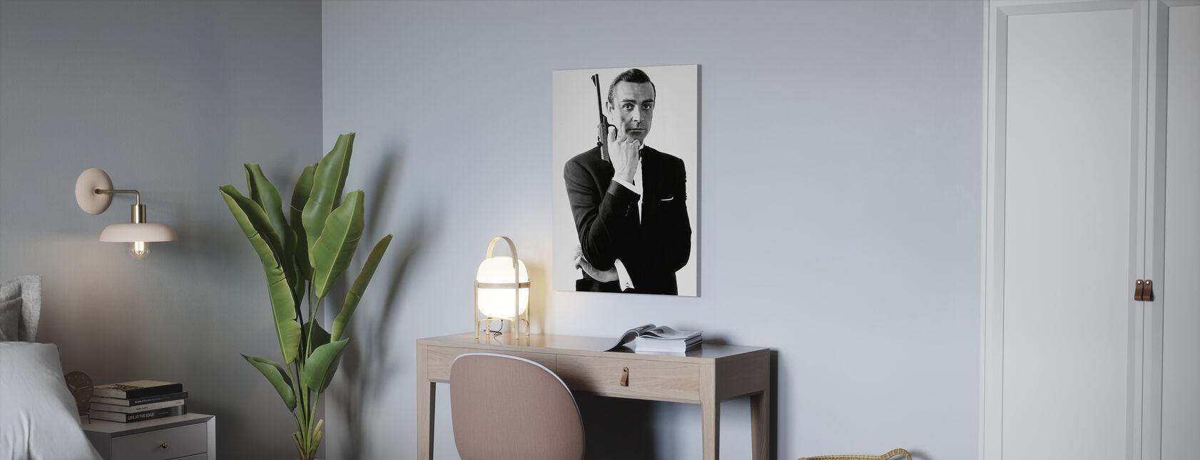 James Bond Dr nr - Canvastavla - Kontor