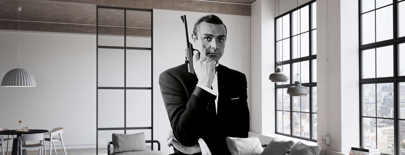 James Bond Dr Nei - Tapet - Kontor