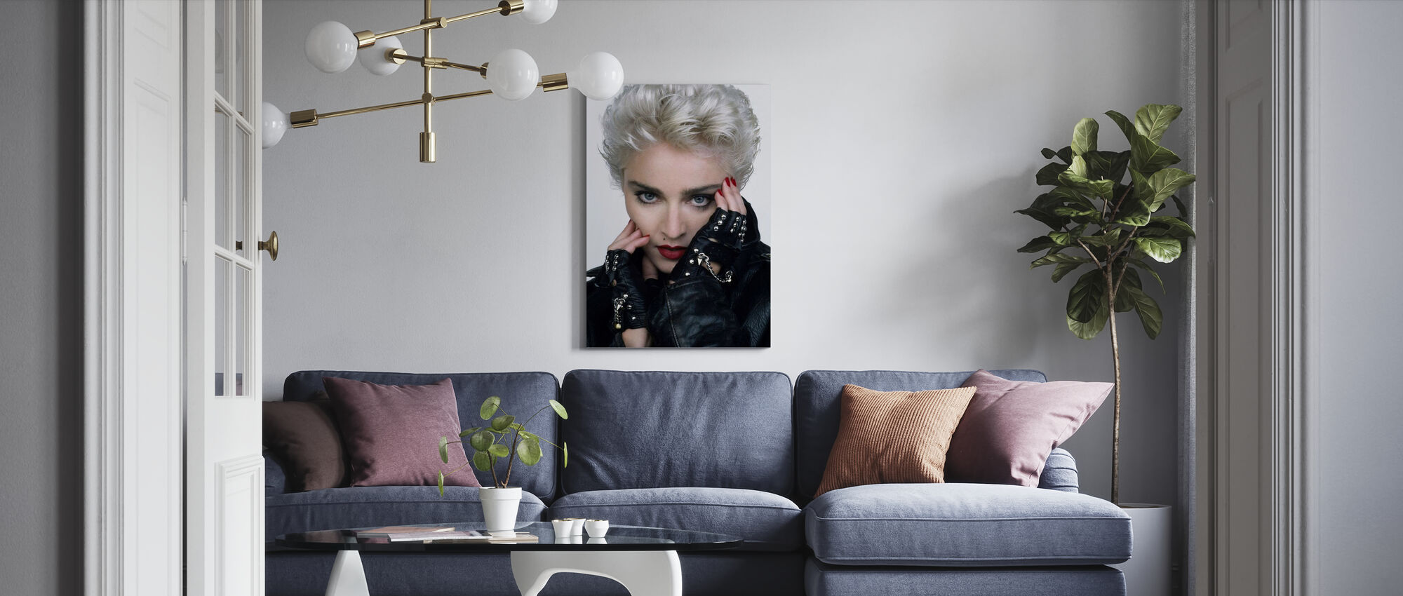 Whos that Girl - Madonna - Canvas print - Living Room