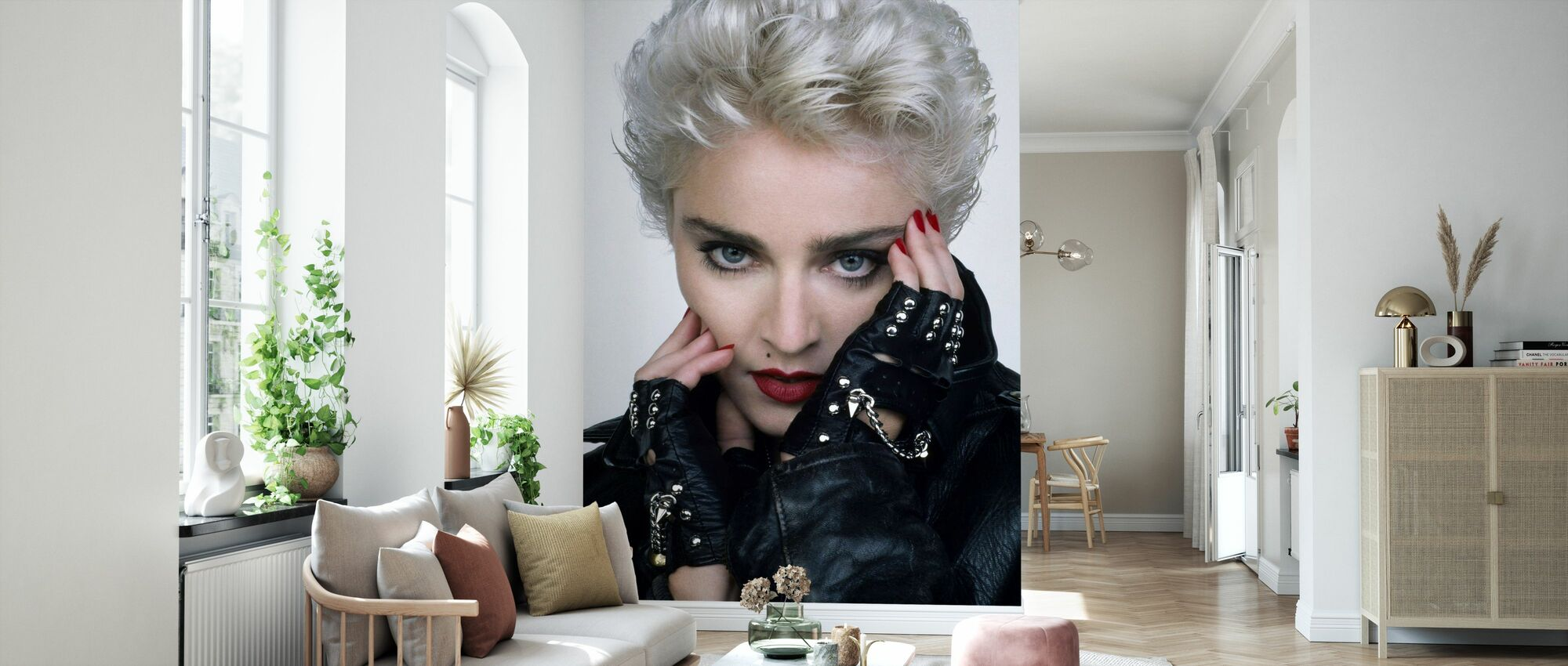 Whos that Girl - Madonna - Wallpaper - Living Room