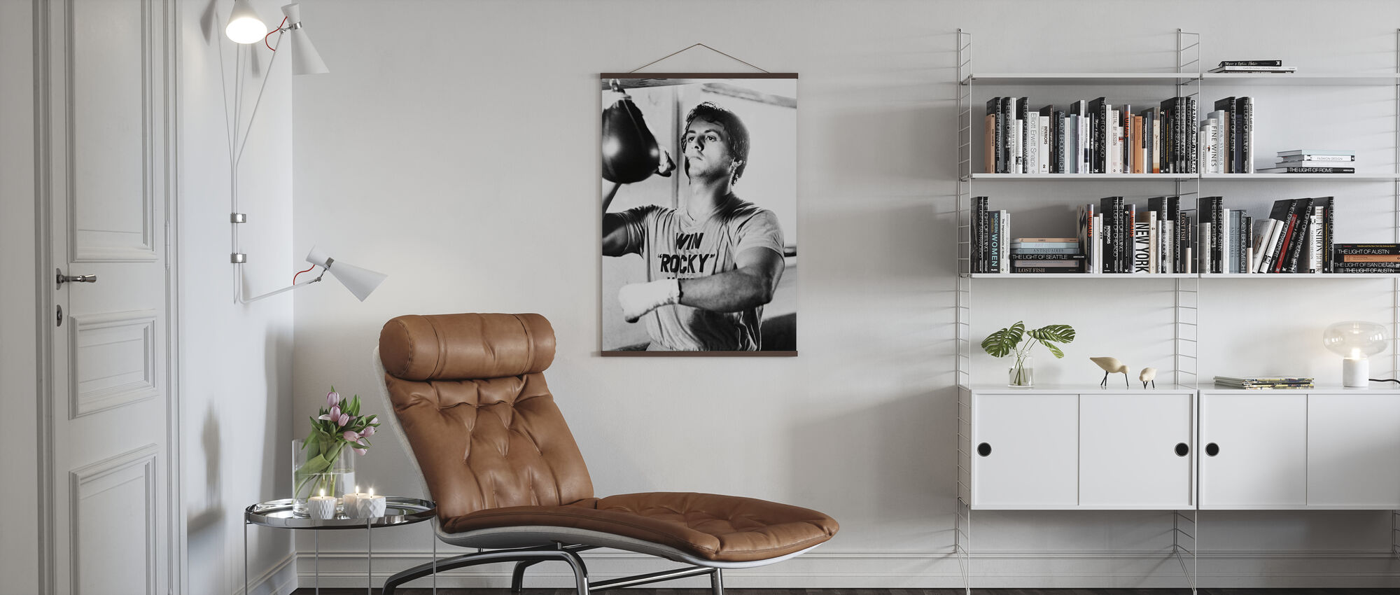 Rocky - Sylvester Stallone - Poster - Living Room