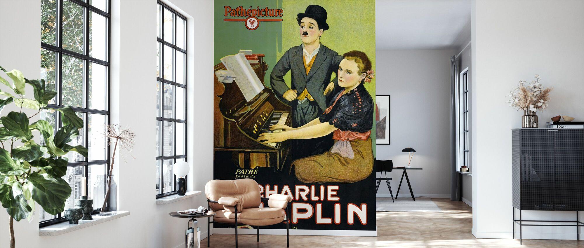 Sunnyside - Infographics - Wallpaper - Living Room