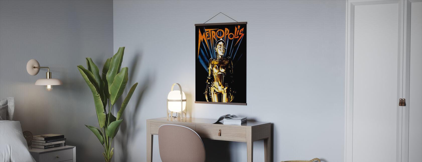 Metropole - Infografiken - Poster - Büro