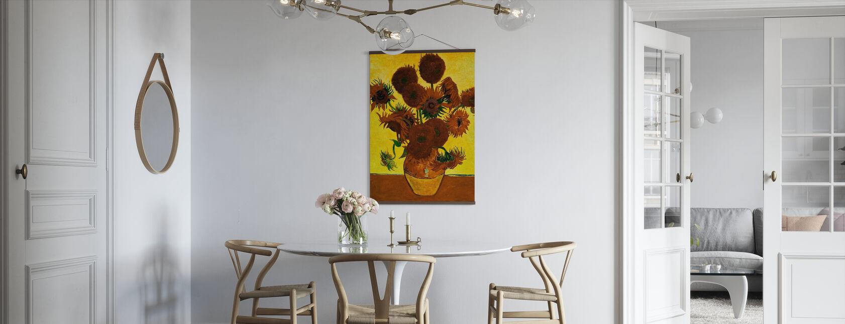 Solsikker - Vincent Van Gogh - Plakat - Kjøkken