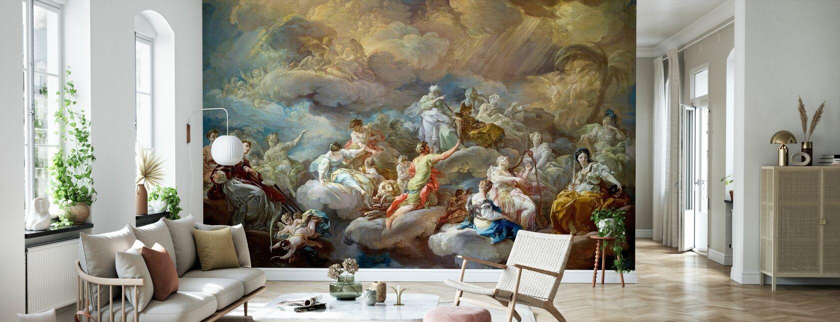 Helgon i ära - Corrado Giaquinto - Tapet - Vardagsrum
