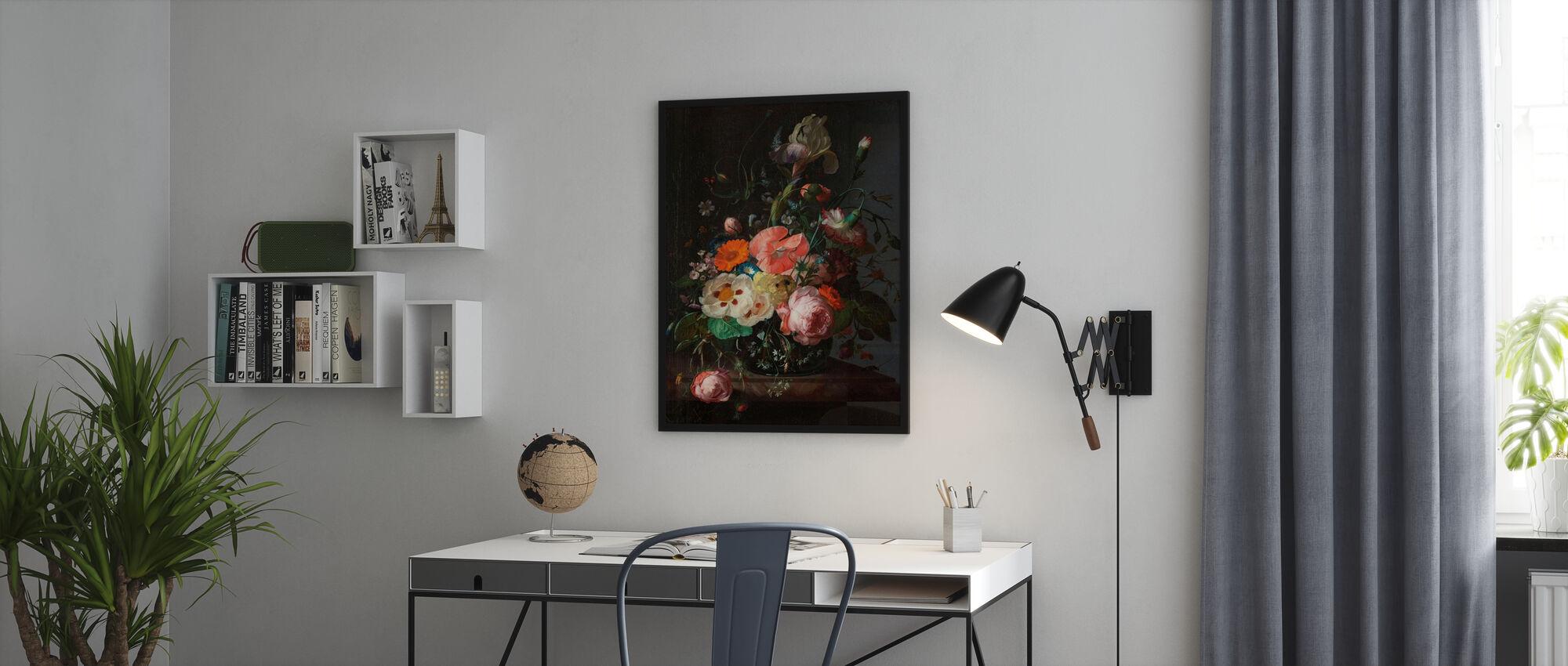 Still Life with Flowers - Rachel Ruysch - Poster - Office