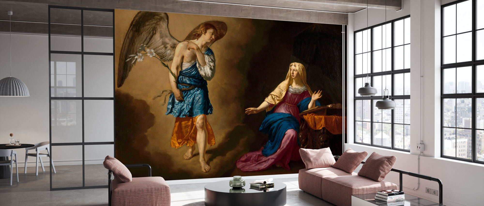 Annunciation - Adriaen Van De Velde - Wallpaper - Office