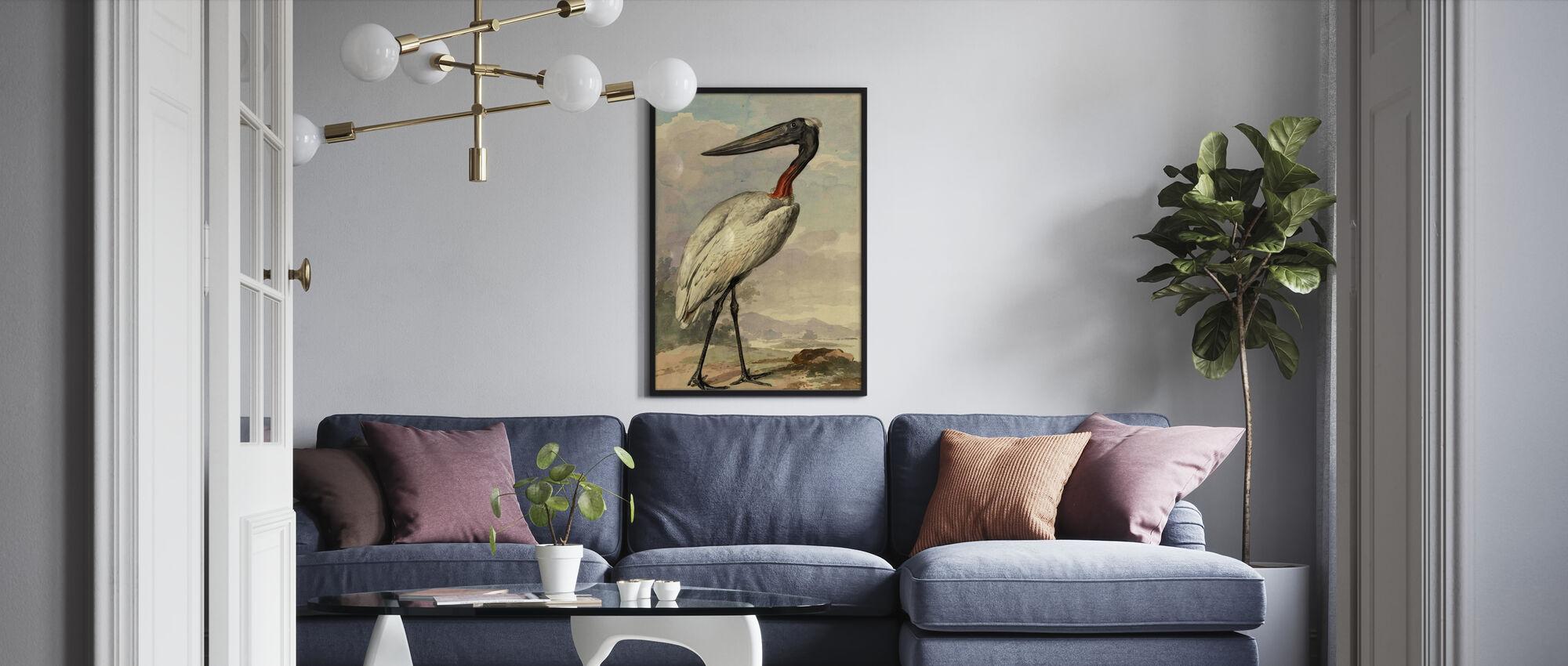 Jabiroe - Aert Schouman - Poster - Wohnzimmer