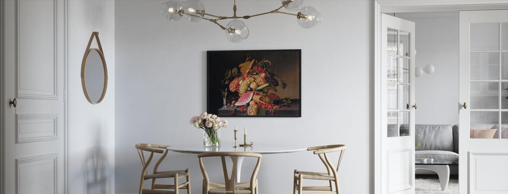 Abundance of Summer - Paul Lacroix - Framed print - Kitchen