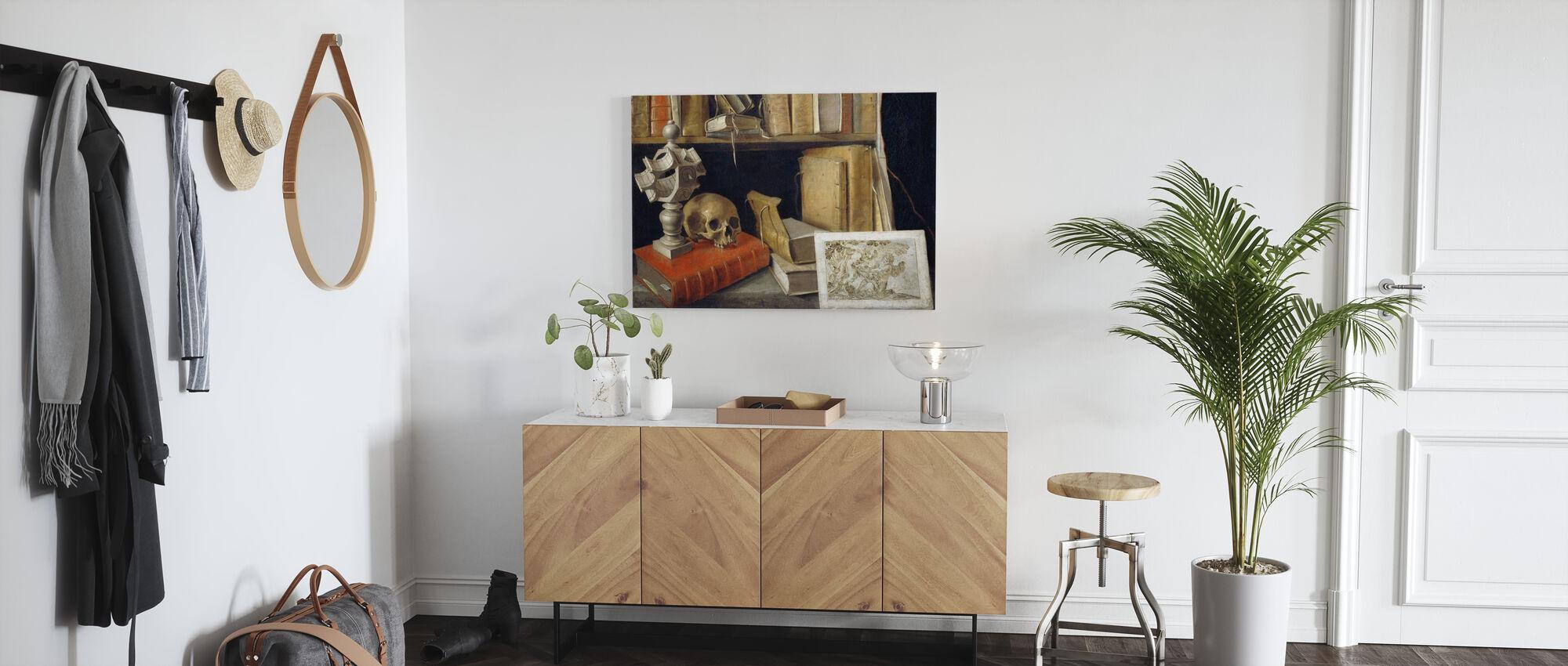 Four Essays - Michel de Montaigne - Canvas print - Hallway