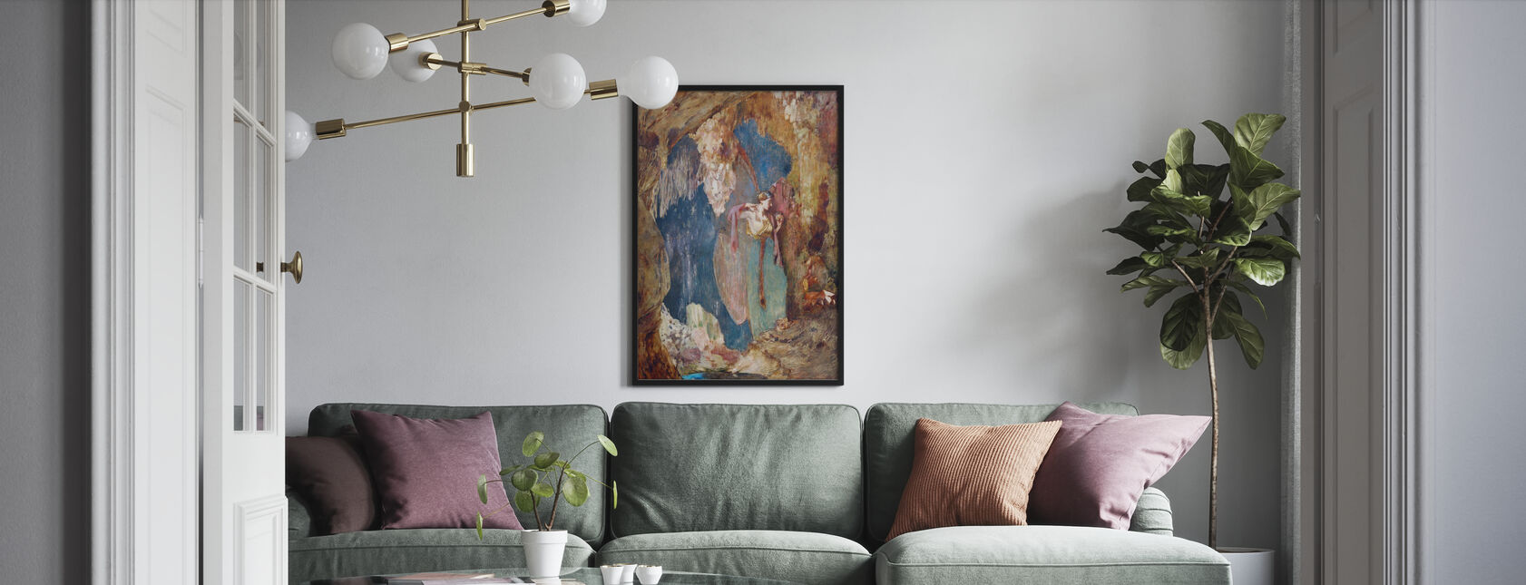 Pandora - Ary Renan - Framed print - Living Room