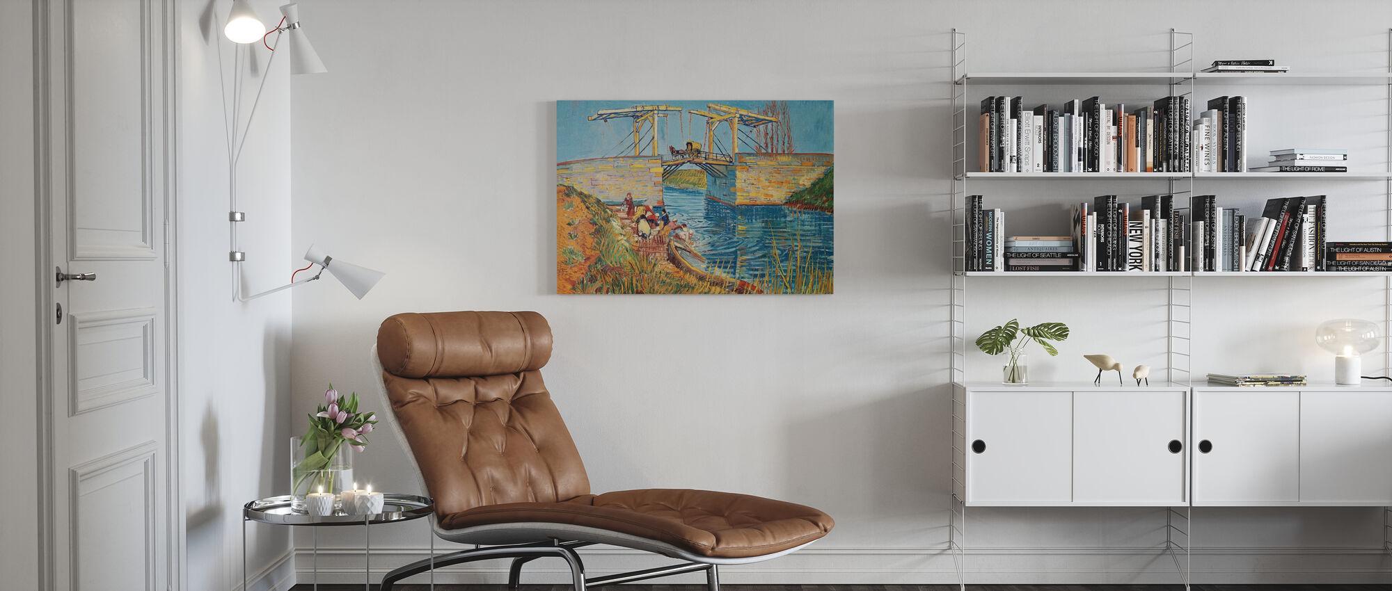 Washer Women - Vincent Van Gogh - Canvas print - Living Room