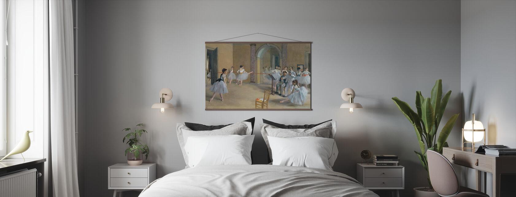 Foyer di danza all'Opera - Edgar Degas - Poster - Camera da letto