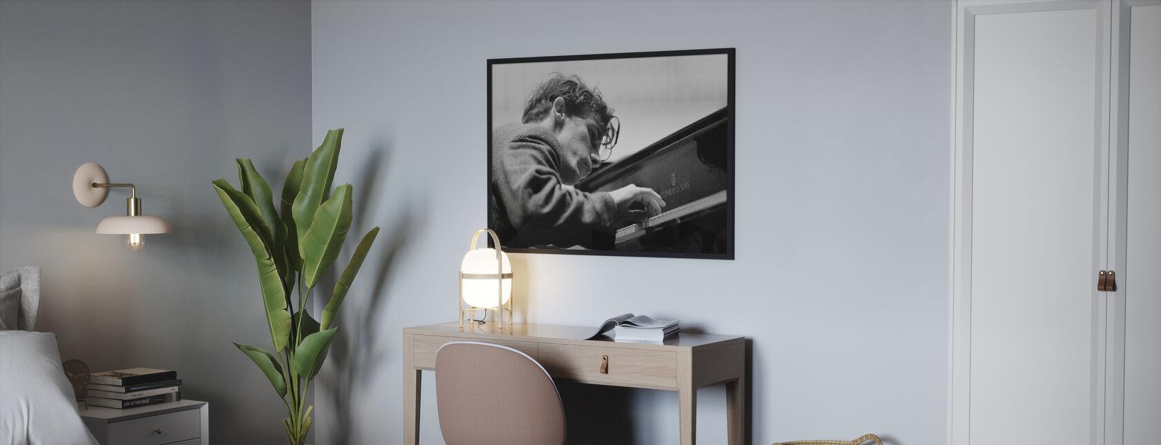 Glenn Gould - Poster - Bedroom