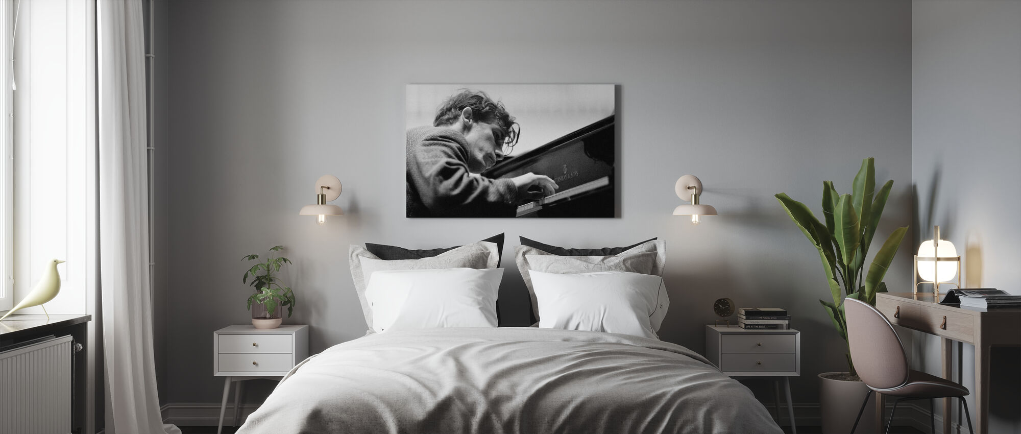 Glenn Gould - Stampa su tela - Camera da letto