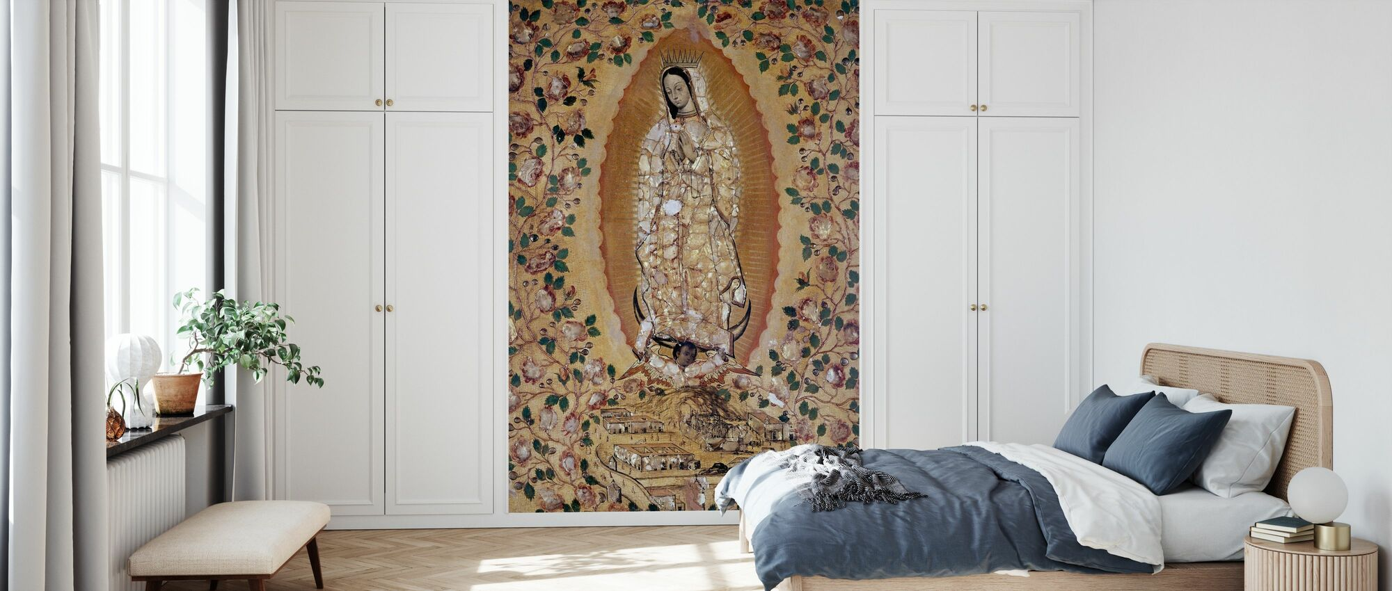 Virgin de Guadalupe - Gonzales Miguel - Wallpaper - Bedroom