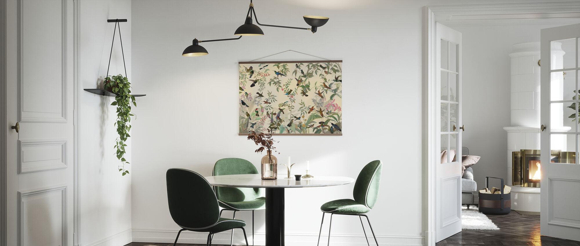 Vogels symfonie - Poster - Keuken