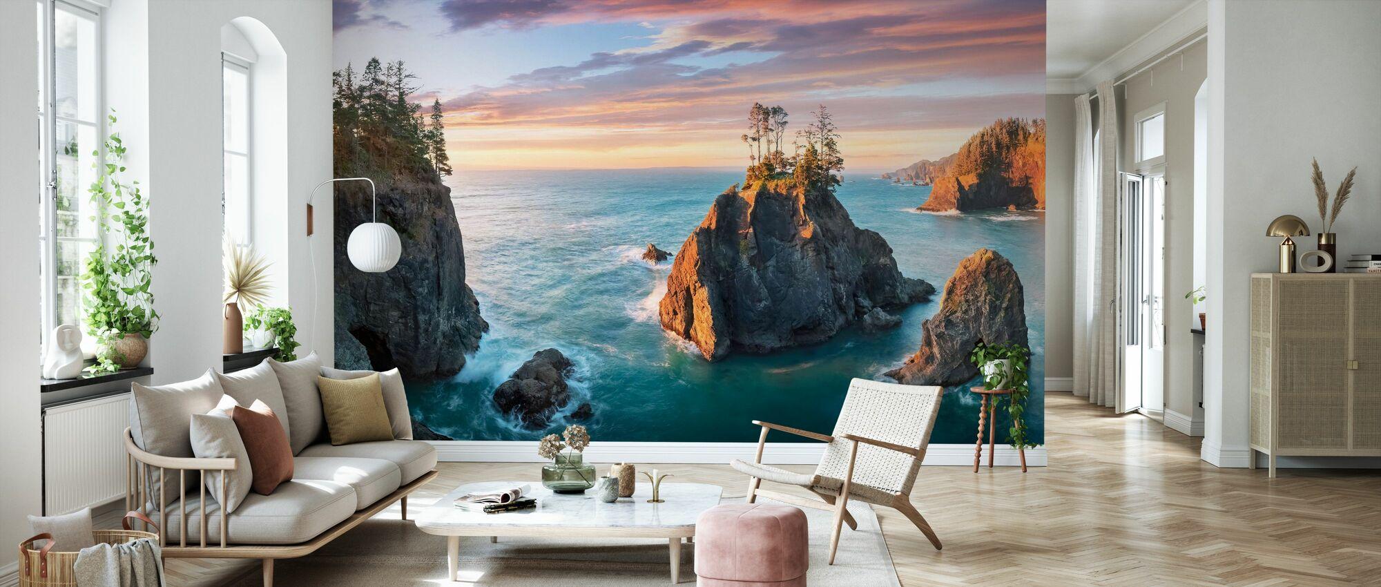 Daybreak - Wallpaper - Living Room