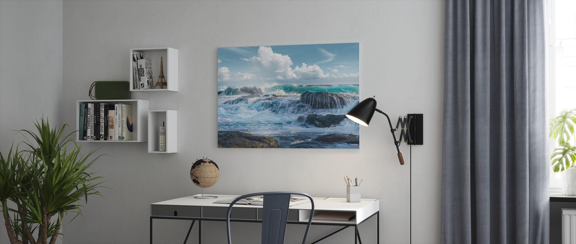 Bruisend - Canvas print - Kantoor