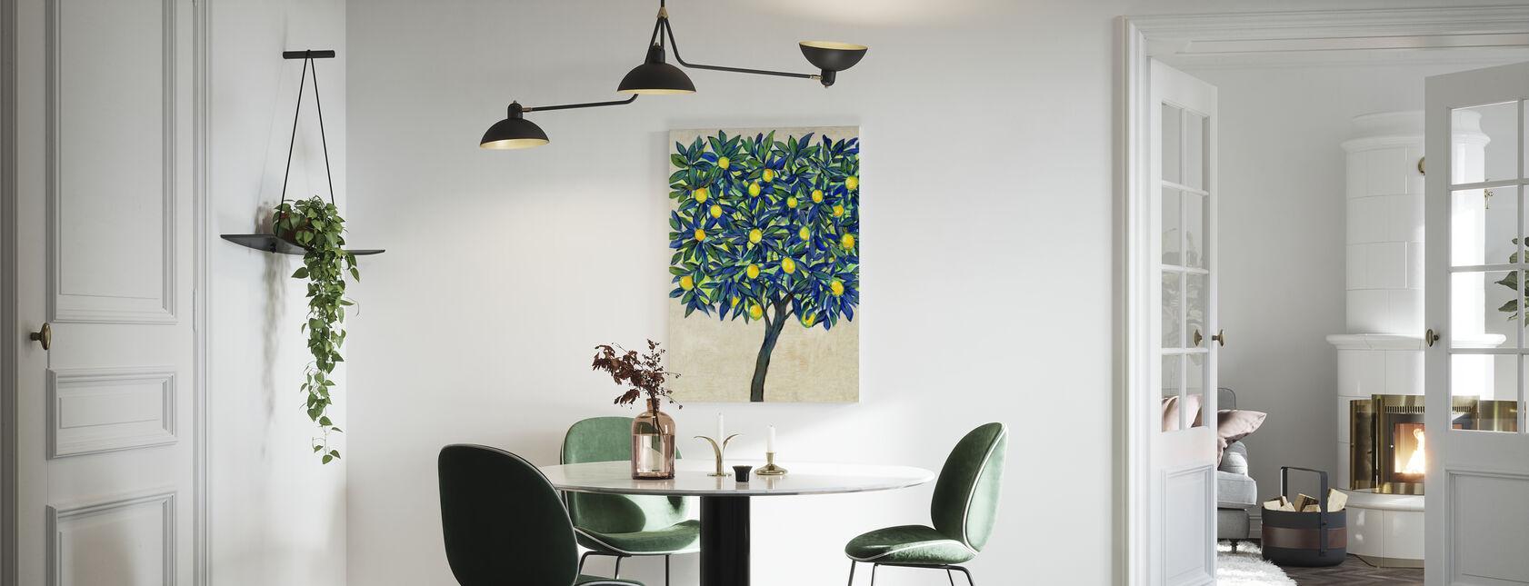 Sitruunapuun koostumus - Canvastaulu - Keittiö