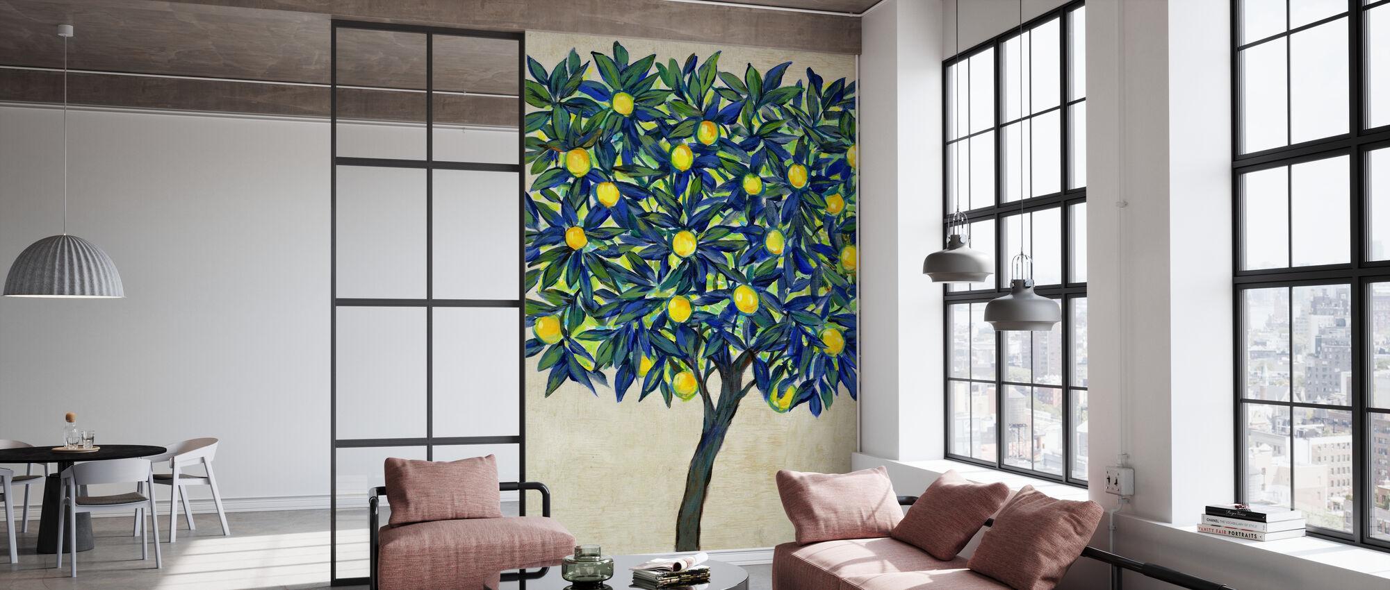 Zitronenbaum Zusammensetzung - Tapete - Büro