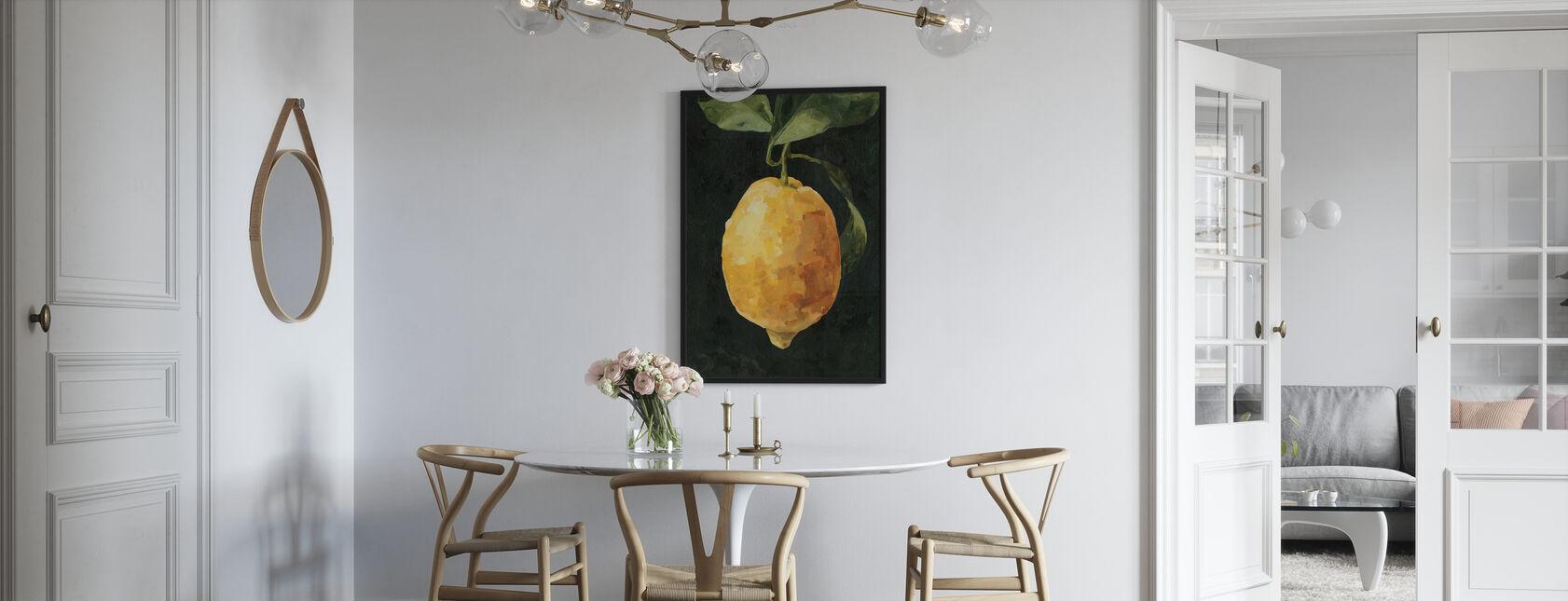 Dunkle Zitrone - Poster - Küchen