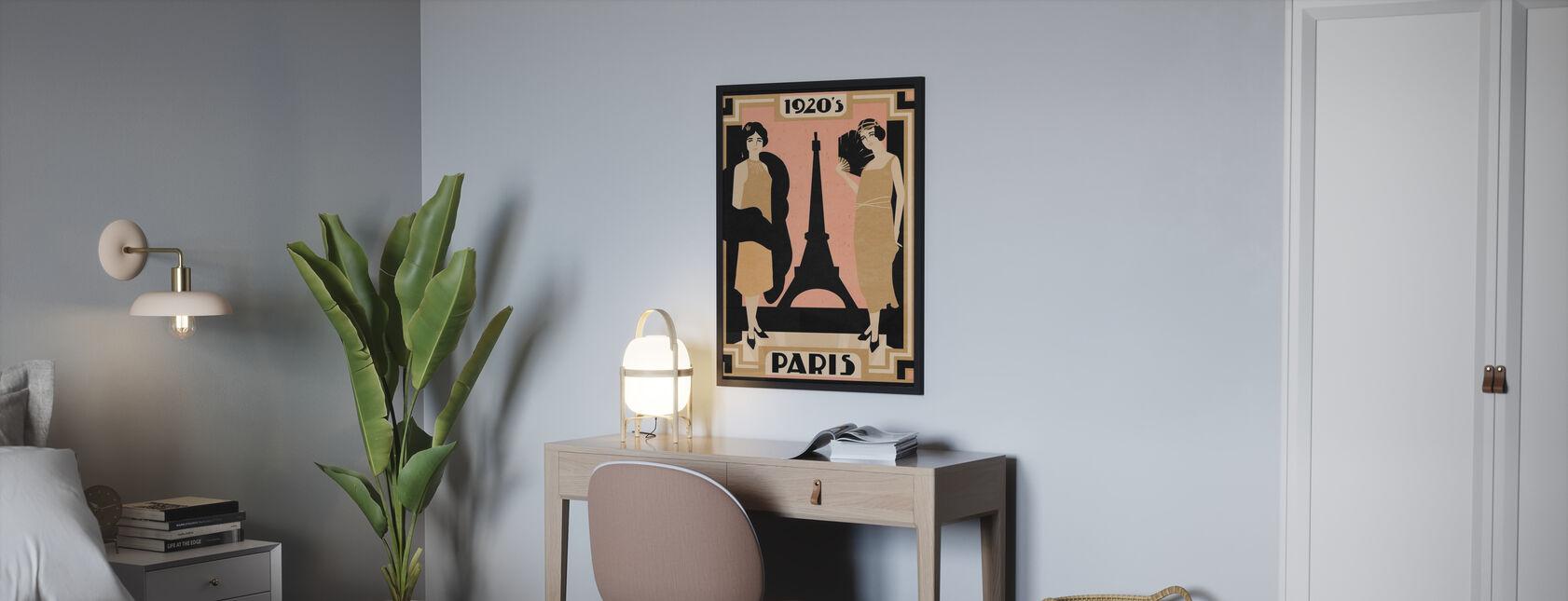 1920 Paris - Poster - Bedroom