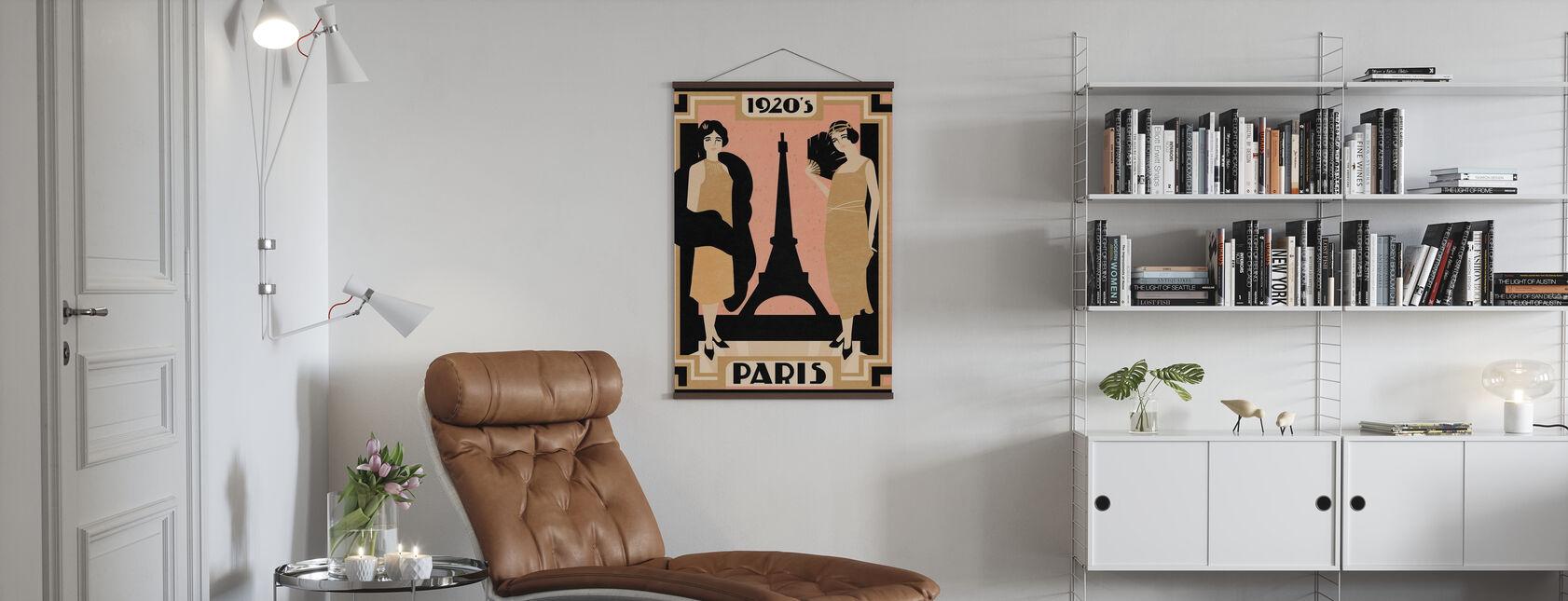 1920 Paris - Poster - Living Room