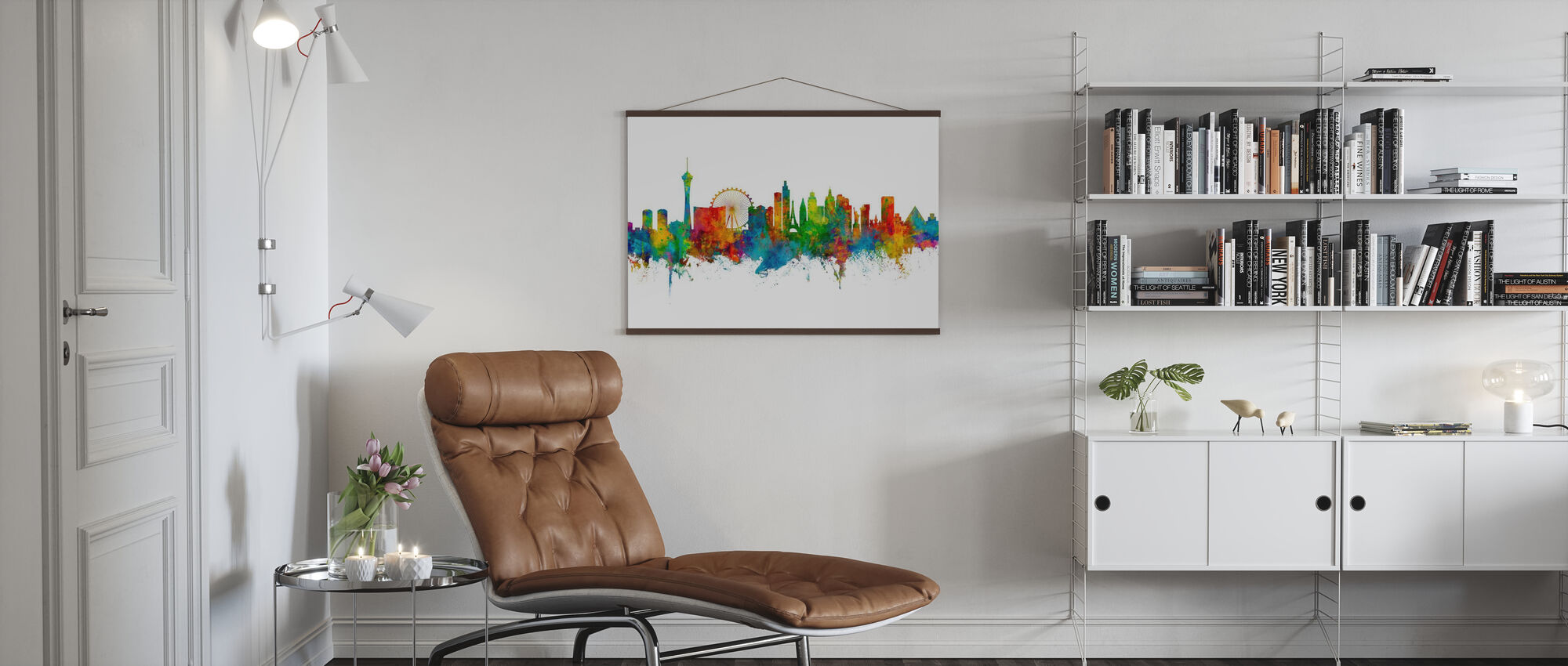 Las Vegas Nevada Skyline - Plakat - Stue