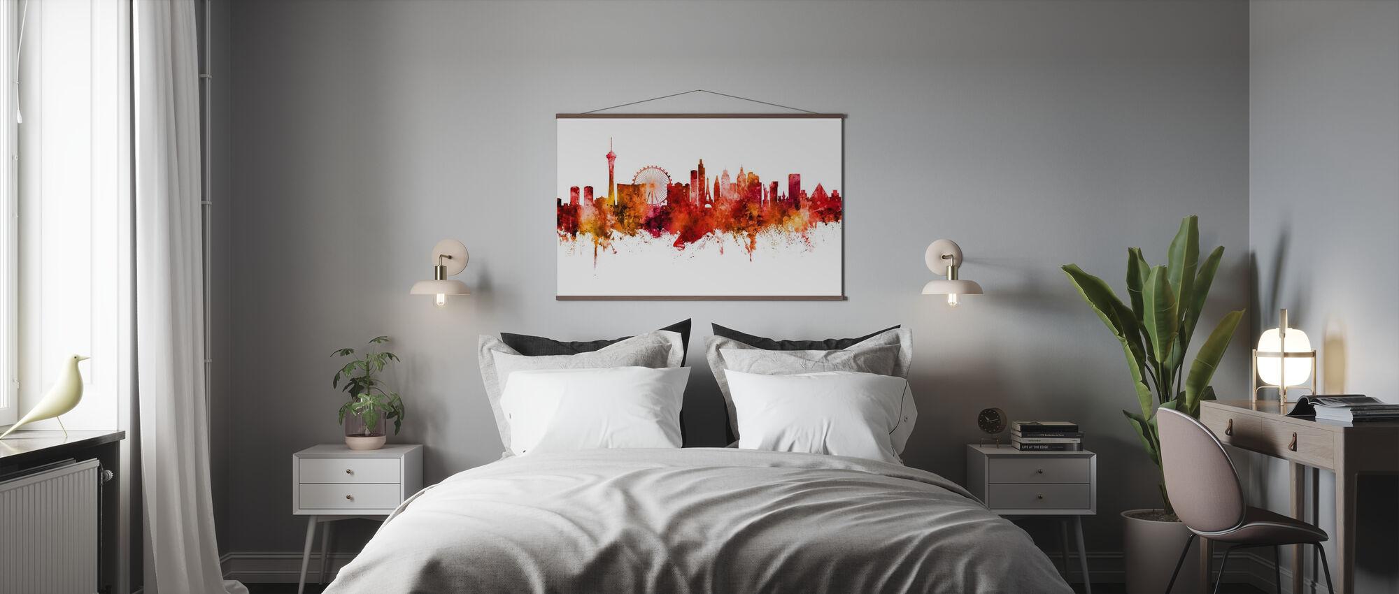 Las Vegas Nevada Skyline IIII - Plakat - Soverom