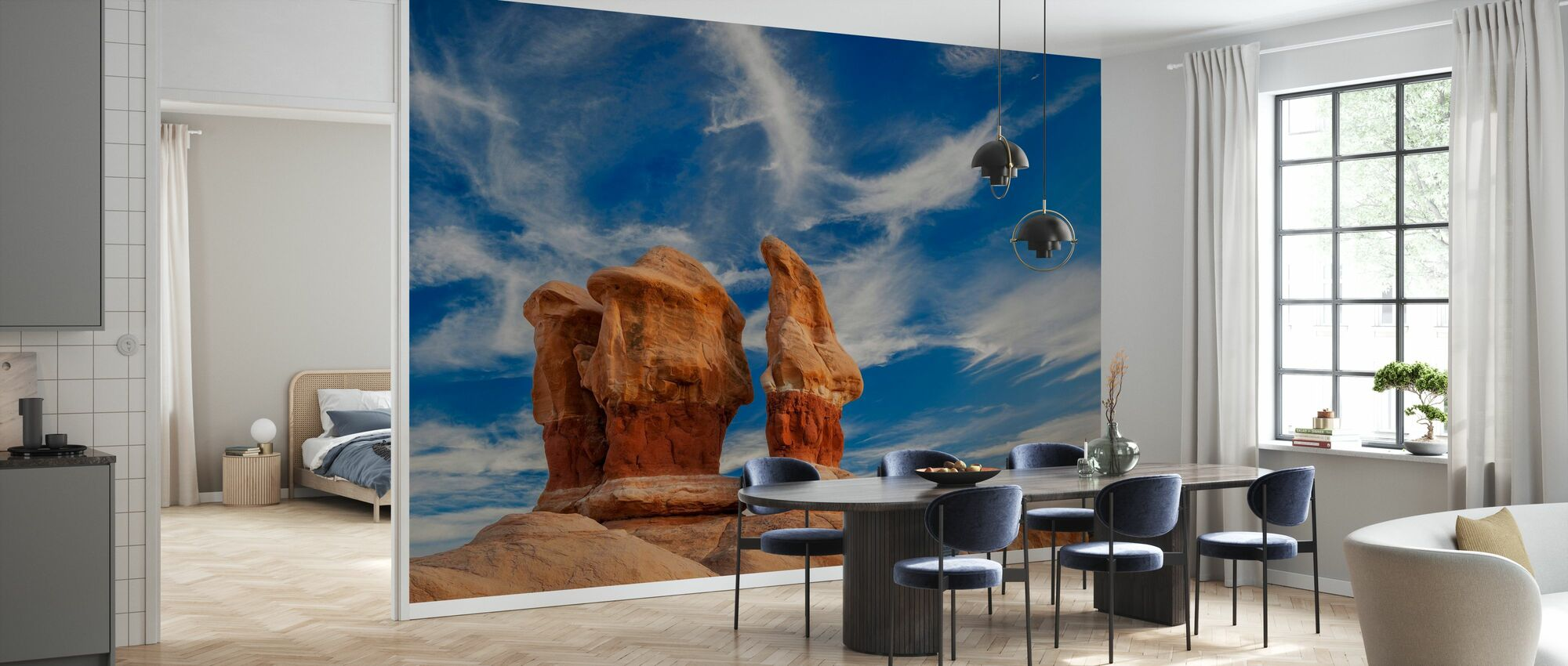 Entrada Sandstone Formations - Wallpaper - Kitchen