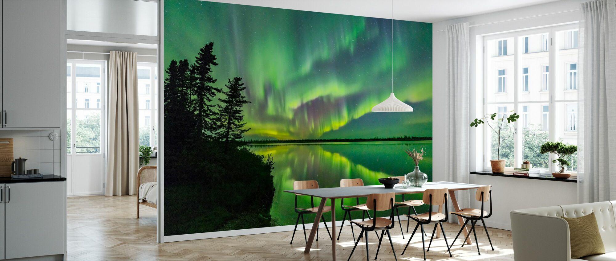 Aurora Borealis - Tapetti - Keittiö