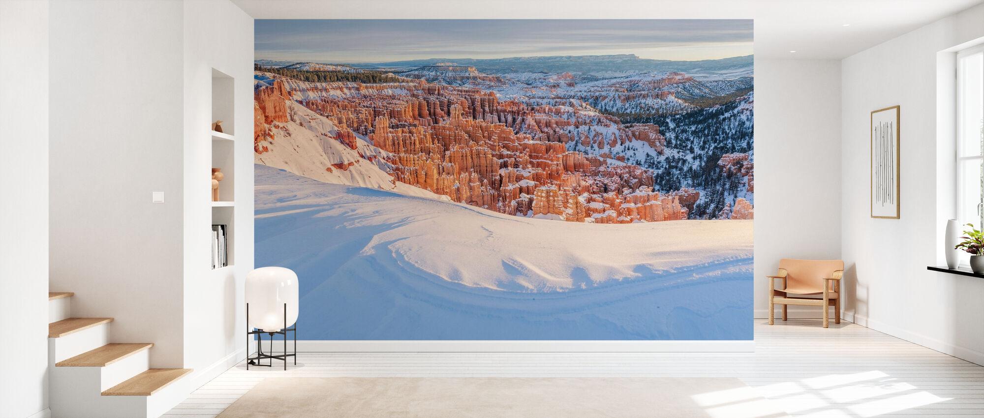 Lumen peittämä Bryce Canyon - Tapetti - Aula