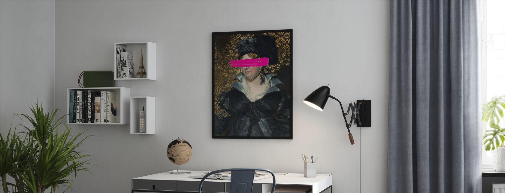 Maskert mester - Plakat - Kontor