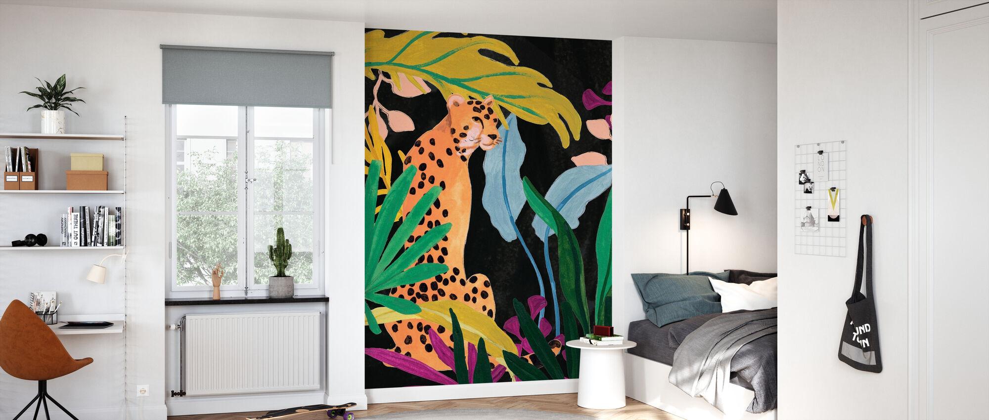 Cheetah Kingdom - Wallpaper - Kids Room
