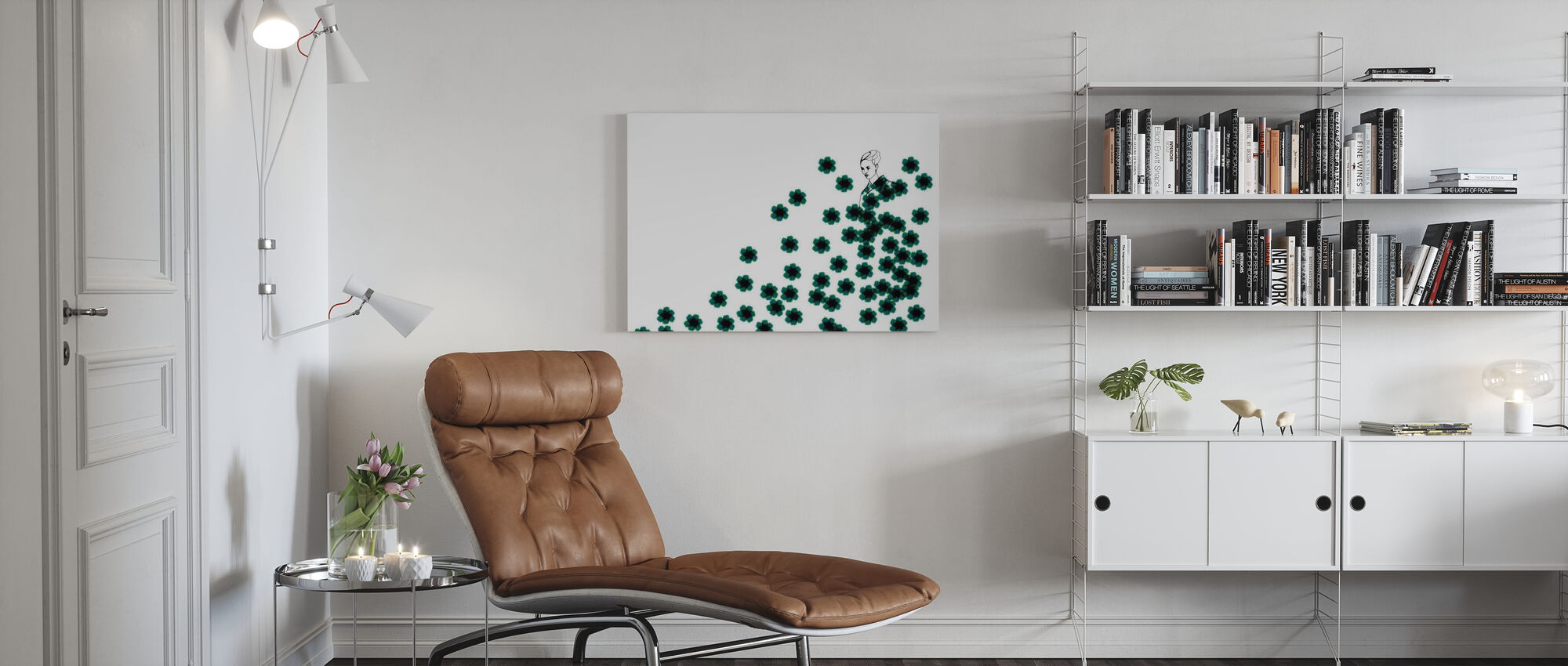 Mode Camo - Canvas print - Woonkamer