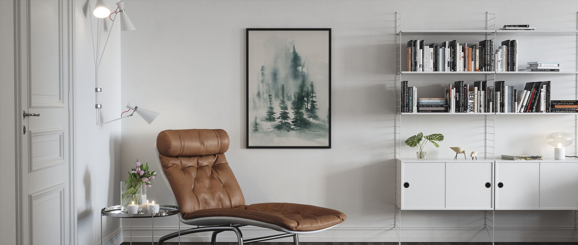 Misty Winter - Poster - Woonkamer
