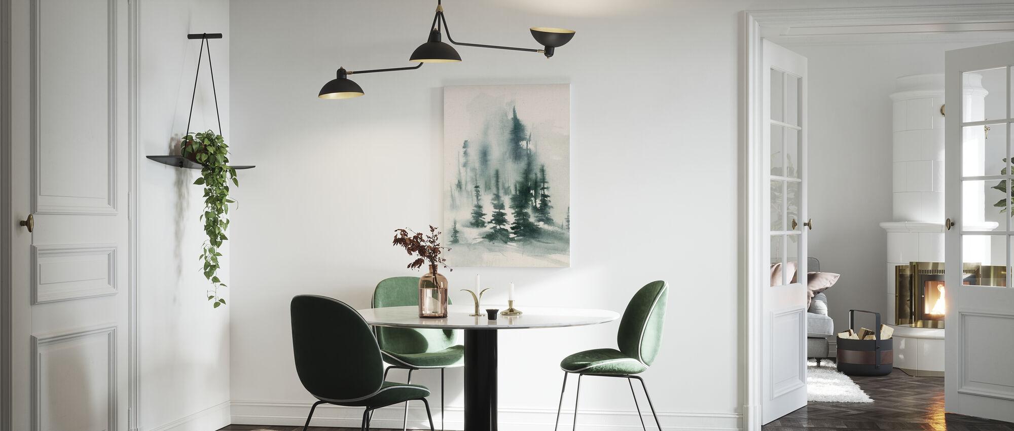 Misty Winter - Canvas print - Kitchen