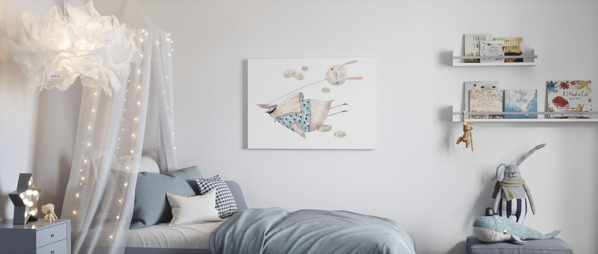 superpower - Canvas print - Kids Room