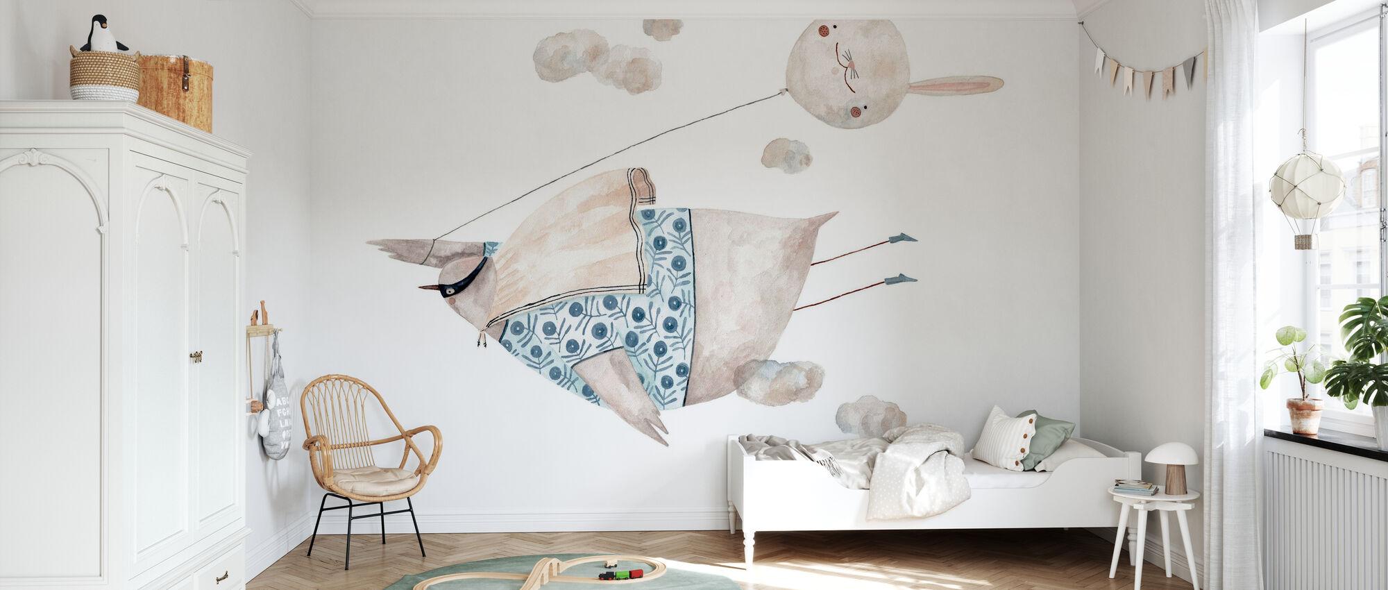 superpower - Wallpaper - Kids Room