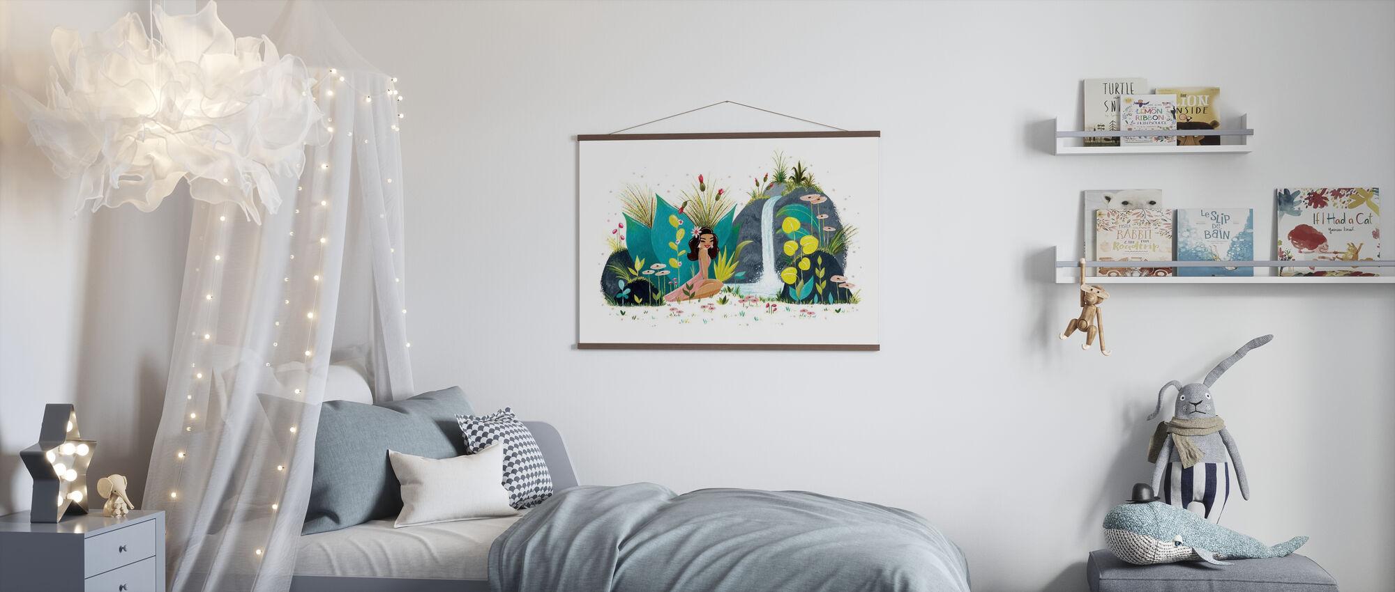 Tiki Waterval - Poster - Kinderkamer