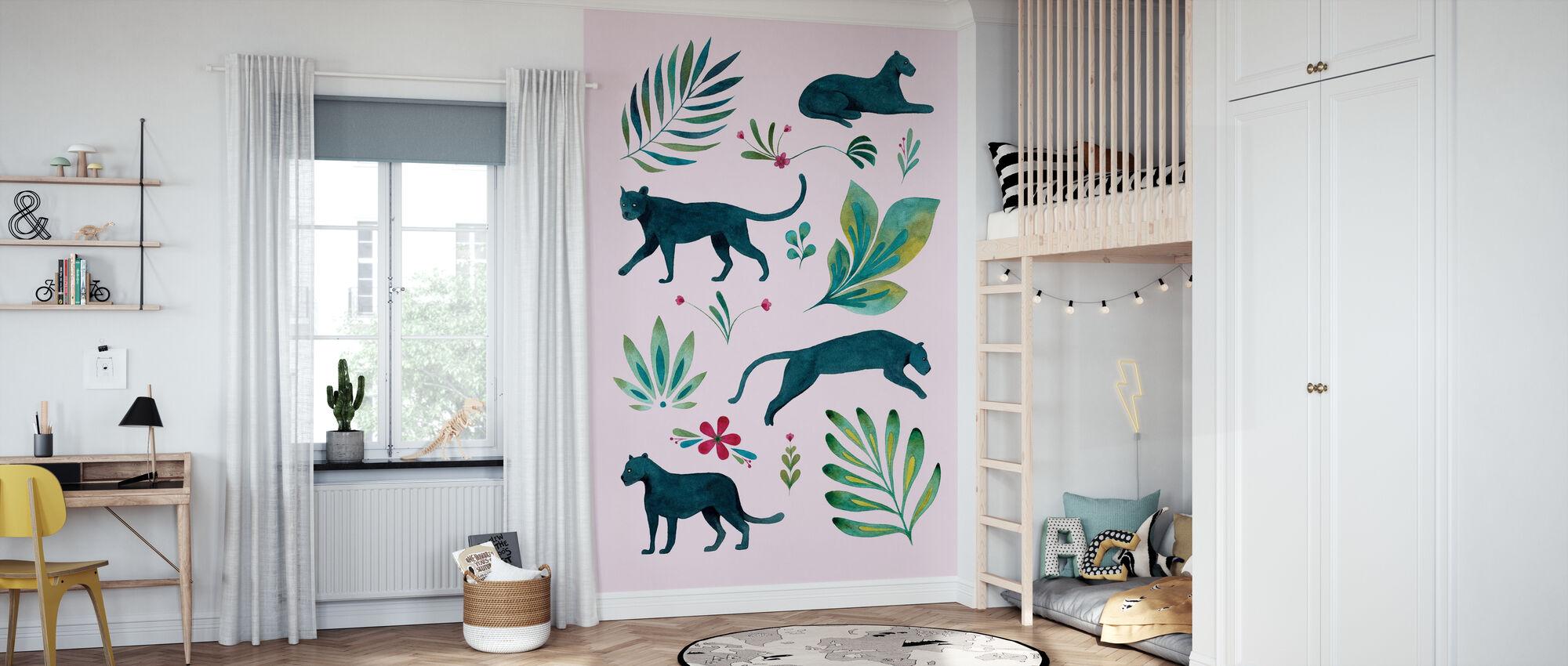Panther - Wallpaper - Kids Room