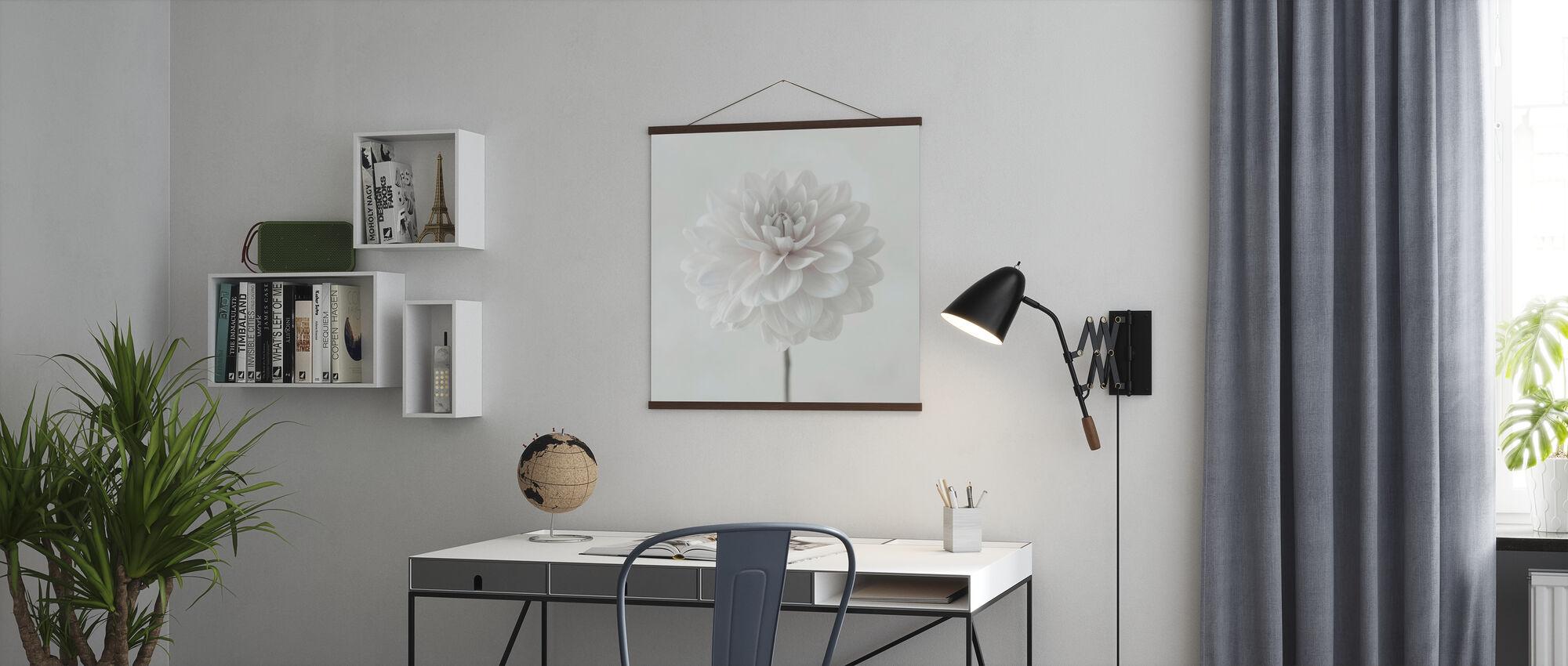 Dahlias - Poster - Office