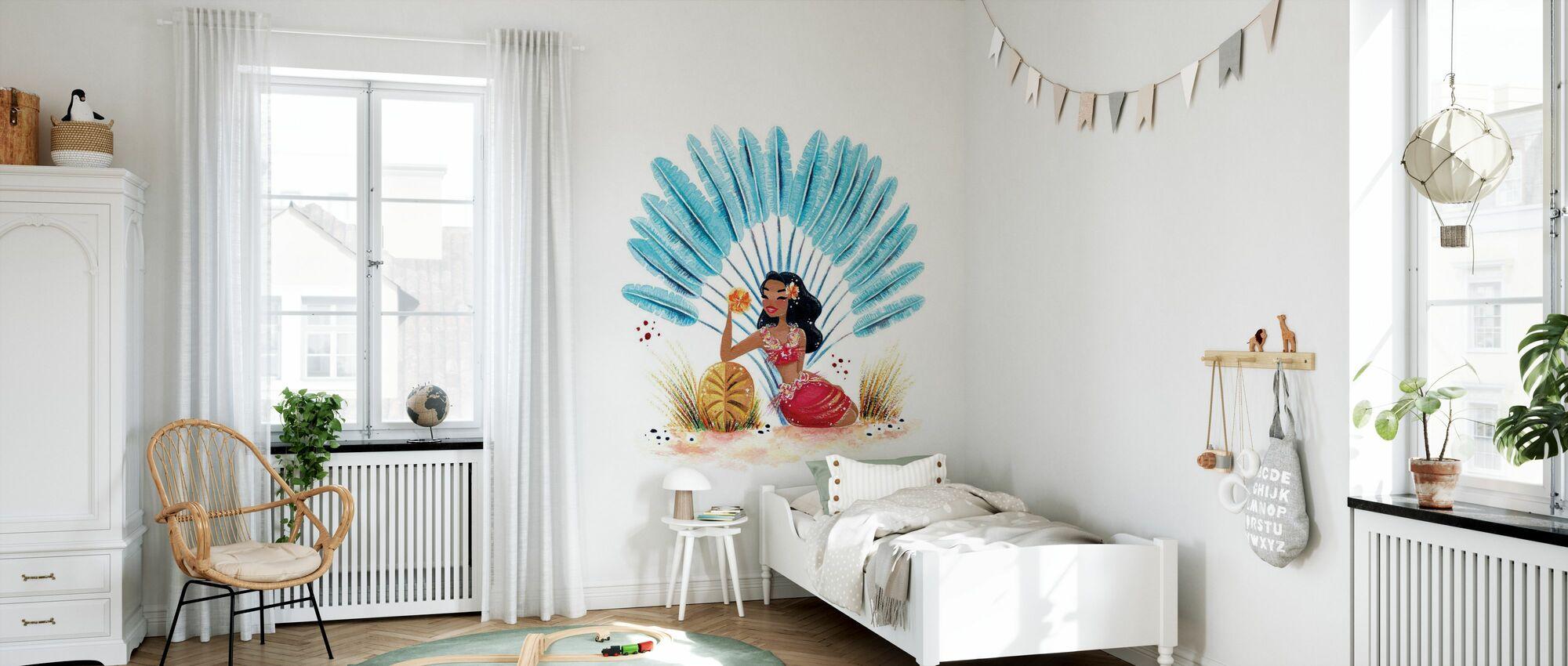 Fantastic Tropic II - Wallpaper - Kids Room