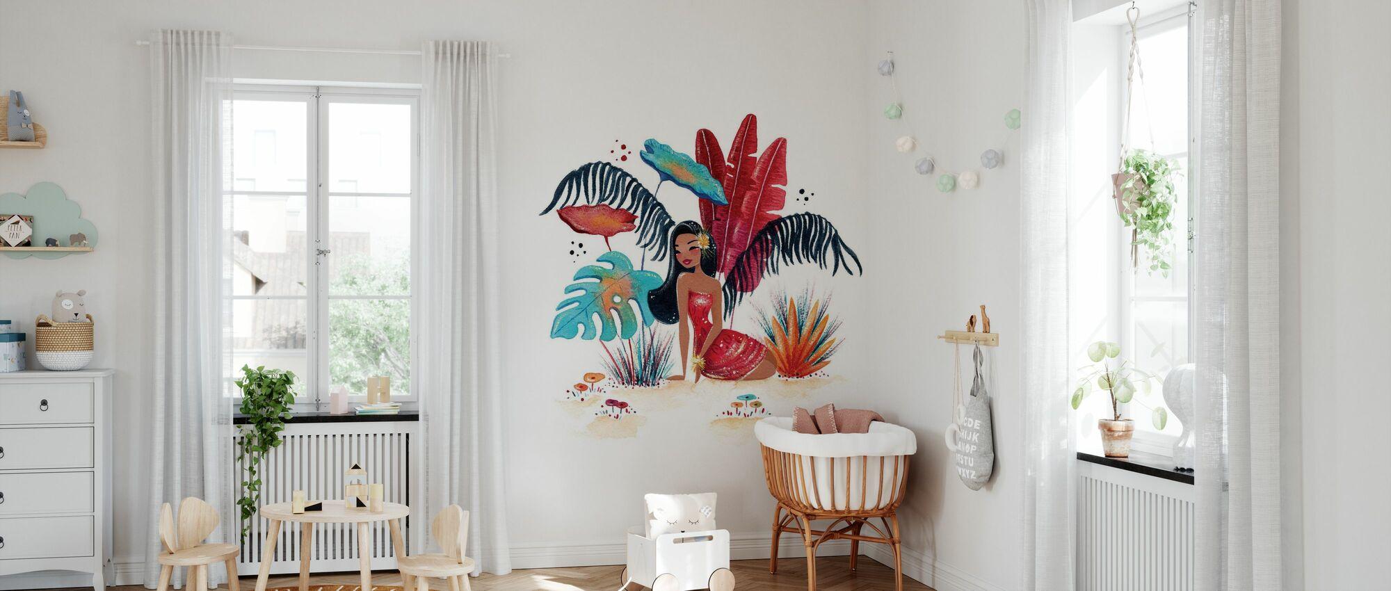 Fantastic Tropic III - Wallpaper - Nursery