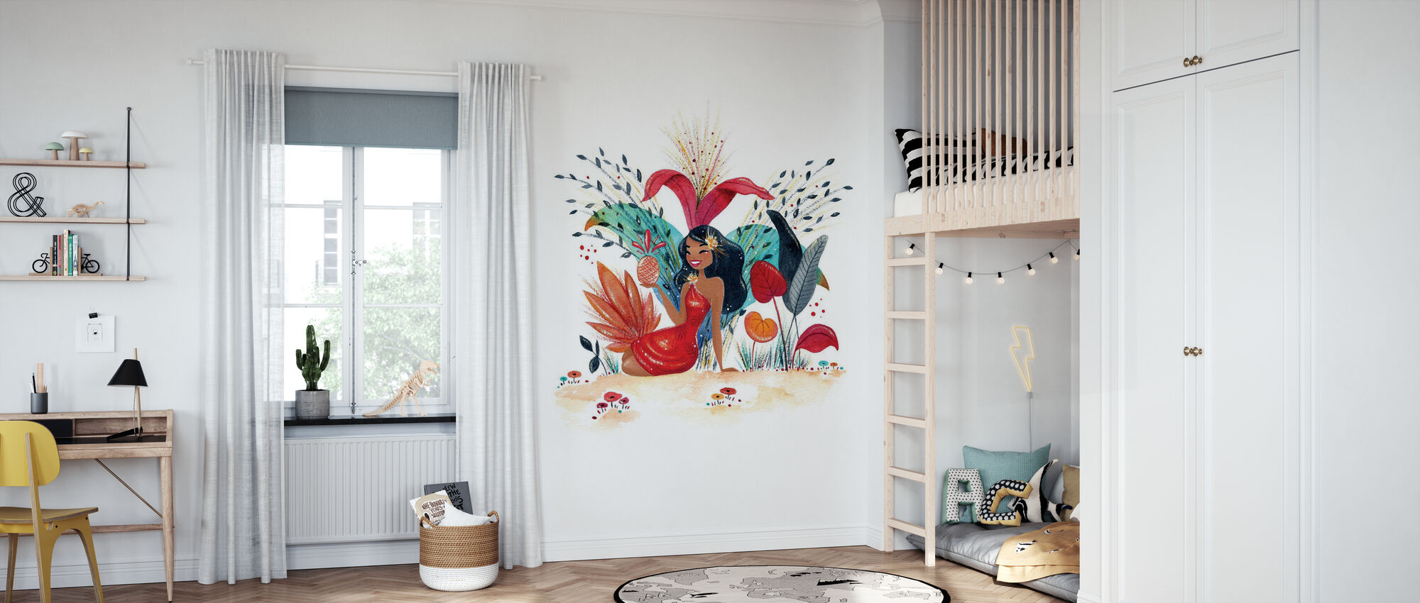 Fantastic Tropic IV - Wallpaper - Kids Room