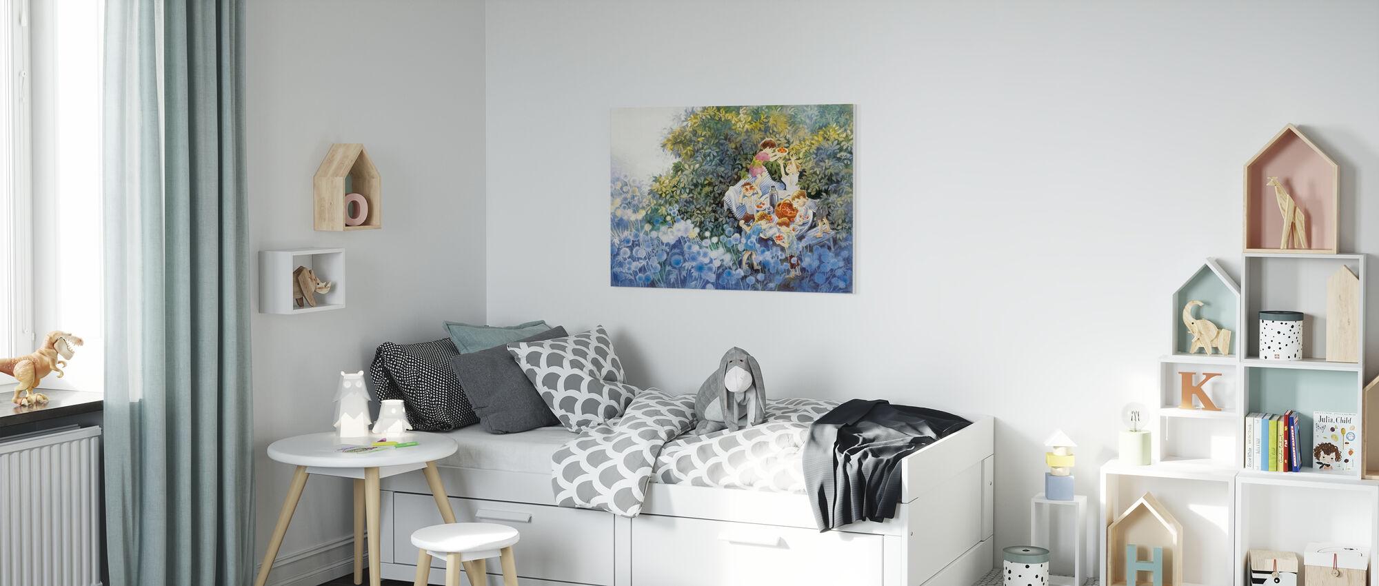 Summer Alcove - Canvas print - Kids Room