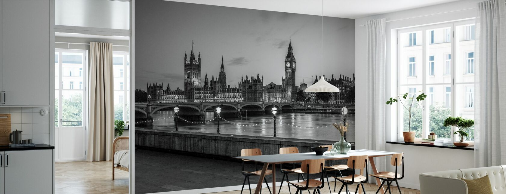 London - Wallpaper - Kitchen