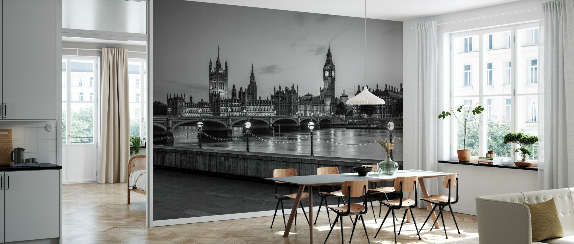 London - Wallpaper - Kitchen