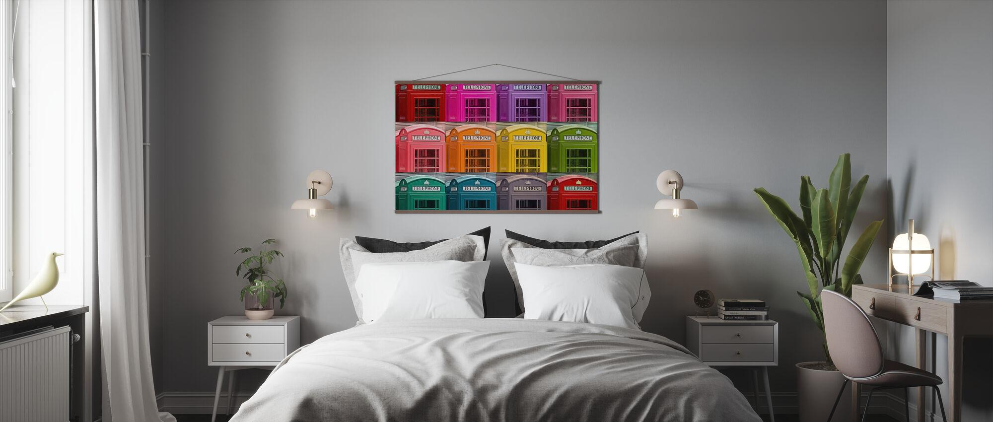 London Telephone Box - Poster - Bedroom